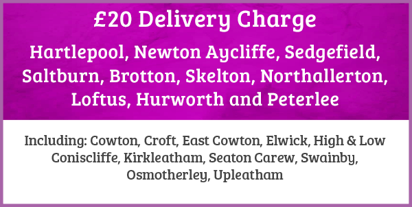 delivery areas charge